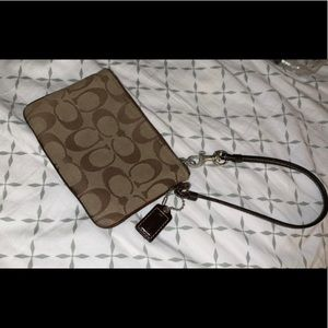 Coach Bags - Coach zip wristlet